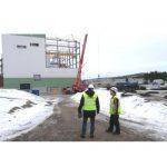 BTI получил заказ на тепловую электростанцию в Великобритании. Город Low Marnham. Изоляция тепловых и энергетических установок (ТЭЦ). Объем работ около 8000 м2.